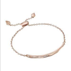 Kendra Scott Angela bracelet - rose gold